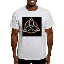 Triquetra Brown/Silver T-Shirt