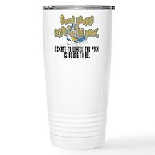 skate to the puck2.png Travel Coffee Mug