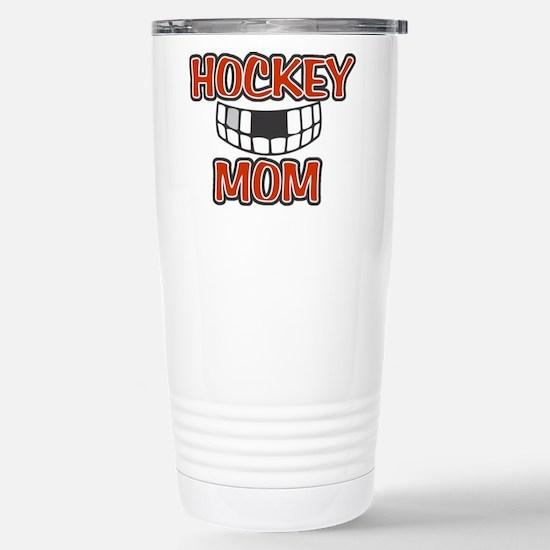 Hockey Mom Stainless Steel Travel Mug
