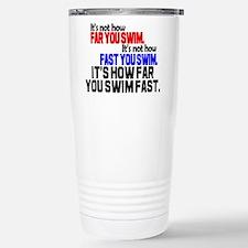 Swim Fast Travel Mug