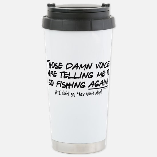 damnvoices2.png Stainless Steel Travel Mug