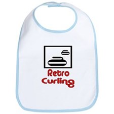 Retro Curling Bib