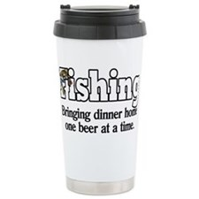 one beer at a time.png Travel Coffee Mug