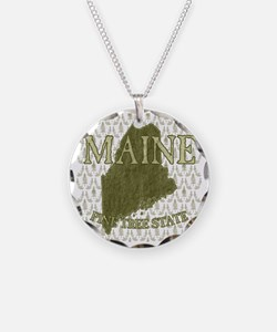 Pine Tree State Rev 2 Necklace