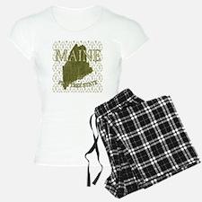 Pine Tree State Rev 2 Pajamas