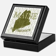 Pine Tree State Rev 2 Keepsake Box