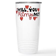 Will You Marry Me? Travel Mug