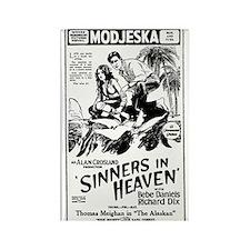 Bebe Daniels Sinners in Heaven Rectangle Magnet