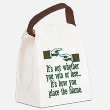 blame Canvas Lunch Bag