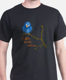 birdie_shirt_vertical_dark copy T-Shirt