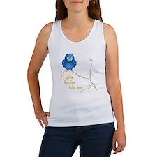 birdie_shirt_vertical copy Women's Tank Top