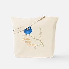 birdie_shirt_vertical copy Tote Bag