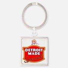 detroitMADE Square Keychain
