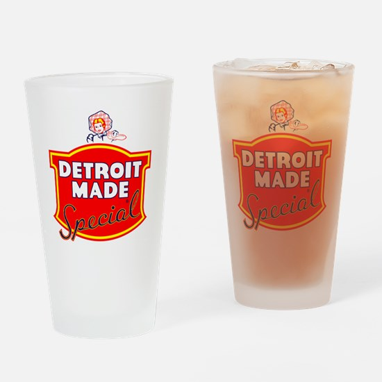 detroitMADE Drinking Glass