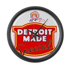 detroitMADE Large Wall Clock