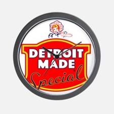 detroitMADE Wall Clock