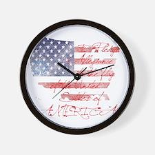usa_baby Wall Clock