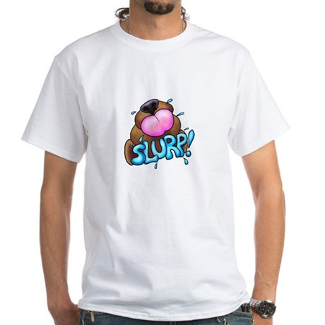 Doggy slurp White T-Shirt