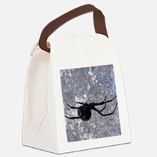 (14) Black Widow 296 Canvas Lunch Bag