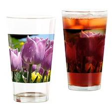Tulip Garden 83M purple lavender Tu Drinking Glass