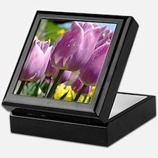 Tulip Garden 83M purple lavender Tuli Keepsake Box