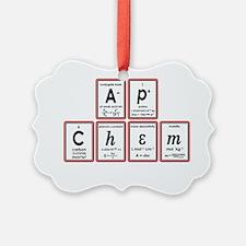 apchem symbols Ornament