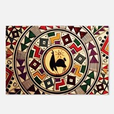 bolivia-llama-mousepad Postcards (Package of 8)