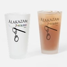 Alakazam Wht Drinking Glass