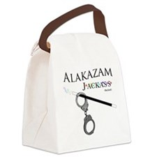 Alakazam Wht Canvas Lunch Bag