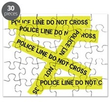 Police Line Do Not Cross Puzzle