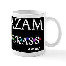 Alakazam Text Pillow Mug