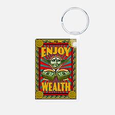 ENJOY_WEALTH_2x3_magnet Keychains