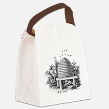 beehive.gif Canvas Lunch Bag