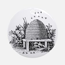 beehive.gif Round Ornament