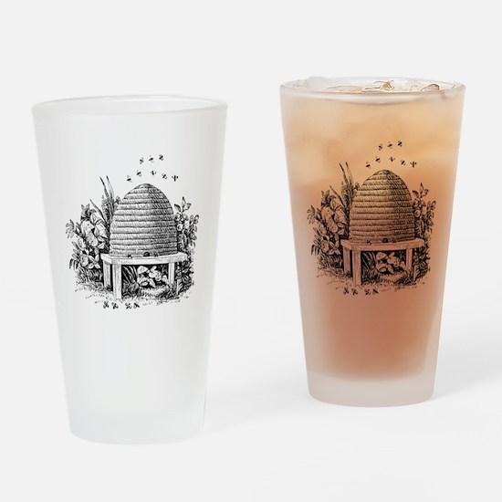 beehive.gif Drinking Glass