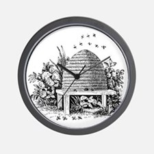 beehive.gif Wall Clock