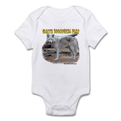 Gray Wolf Infant Bodysuit