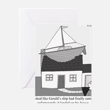 Geralds Ship Greeting Card
