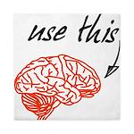 Use brain Queen Duvet