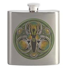 Goddess of the Green Moon Flask