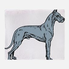 Great_Dane Throw Blanket
