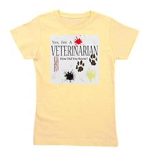 veterinarianknownusereally Girl's Tee
