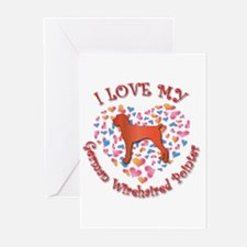 Love Pointer Greeting Cards (Pk of 10)