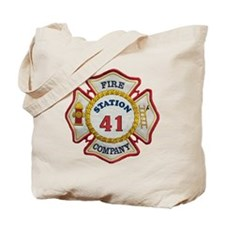 station41 maltese Tote Bag