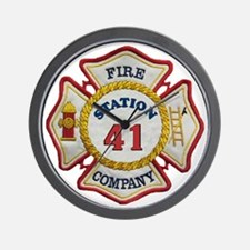 station41 maltese Wall Clock