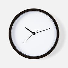 bloodhound_white Wall Clock