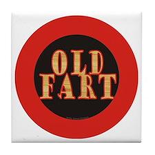 Old Fart Tile Coaster