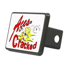 Aces Cracked Hitch Cover