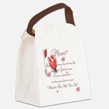 Mom thanks Canvas Lunch Bag