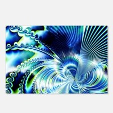 Magnetic Fields Fractal Postcards (Package of 8)